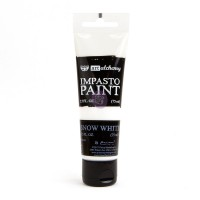 ART ALCHEMY – IMPASTO PAINT – SNOW WHITE 2.5 OZ
