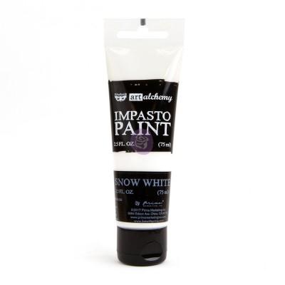 ART ALCHEMY – IMPASTO PAINT – SNOW WHITE 2.5 OZ