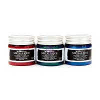 ART ALCHEMY-METALLIQUE MEDIEVAL 1.7OZ (50 ML) BOTTLE SET OF 3