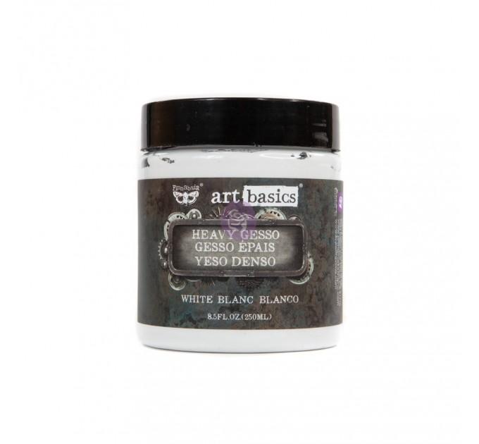 ART BASICS – HEAVY GESSO – WHITE (8.5 FL. OZ.) 250ml