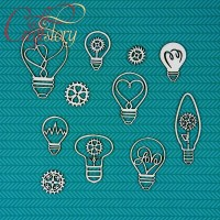 Chipboard Bulbs