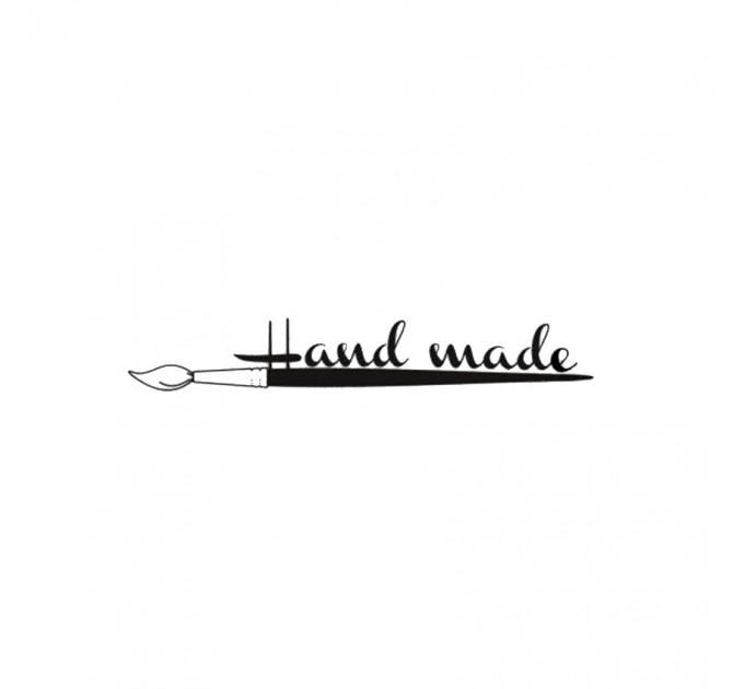 Hand made polymer stamp
