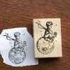 Little prince wood stamp #2