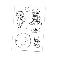 Little Prince clear silicon stamp