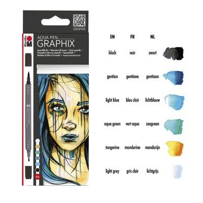 Marabu Aqua Pen Graphix